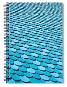 Roof Panels Spiral Notebook
