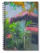 Roof Top Spiral Notebook
