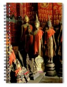 Room Of Buddhas Spiral Notebook