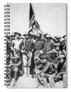 Roosevelt & Rough Riders Spiral Notebook