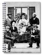 Roosevelt Family 1878 Spiral Notebook