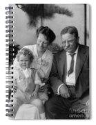 Roosevelt Family, 1915 Spiral Notebook