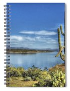 Roosevelt Lake  Spiral Notebook