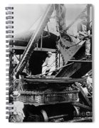 Roosevelt, Panama Canal Construction Spiral Notebook