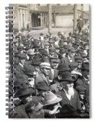 Roosevelt Speech, 1905 Spiral Notebook