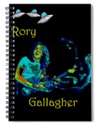 Rory And The Aliens Spiral Notebook