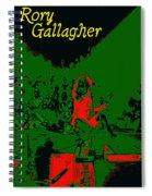 Rockin' At Winterland 1975 Spiral Notebook