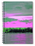 Rose Colore Scape Spiral Notebook