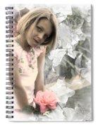 Rose Faery Spiral Notebook