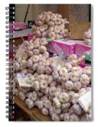Rose Garlic Spiral Notebook
