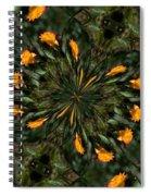 Rose Kaleidoscopic  Spiral Notebook