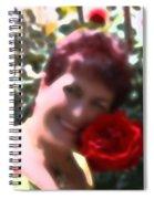 Rose Love Spiral Notebook