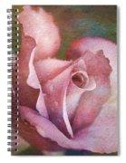 Rose Of Romance Spiral Notebook