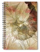 Rose Petal Highway Spiral Notebook