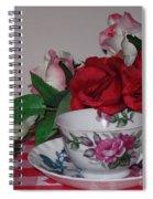 Rose Tea Spiral Notebook