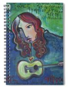 Roseanne Cash Spiral Notebook
