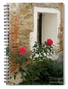 Roses And Antiquity  Spiral Notebook