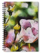 Roses At The Shrine Spiral Notebook