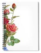 Roses Bouquet Spiral Notebook