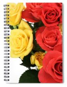 Roses Closeup Spiral Notebook
