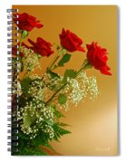 Roses For Suzanne Spiral Notebook