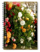Roses Roses Everywhere Spiral Notebook