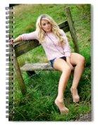 Rosey10 Spiral Notebook