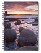 Roslee Castle, Easky, County Sligo Spiral Notebook