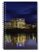 Rosslyn Skyline Spiral Notebook