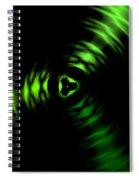 Rotation Green Spiral Notebook