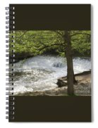 Rouge River At Fair Lane Spiral Notebook