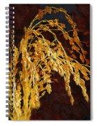 Rough Harvest Spiral Notebook