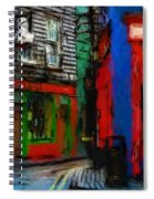 Round The Corner Spiral Notebook