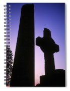 Round Tower And High Cross Spiral Notebook