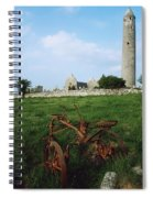Round Tower, Kilmacduagh Near Gort, Co Spiral Notebook
