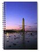 Round Tower, Larne, Co Antrim, Ireland Spiral Notebook