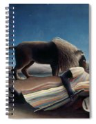 Rousseau: Gypsy, 1897 Spiral Notebook