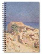 Roussillon Landscape Spiral Notebook