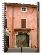 Roussillon Painted Door Spiral Notebook