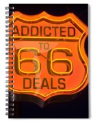 Route 66 Addicted Spiral Notebook
