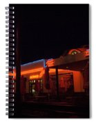 Route 66 At Night Spiral Notebook