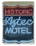 Route 66 Aztec Hotel Mural Spiral Notebook
