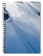 Route 66 Blue Hood Spiral Notebook