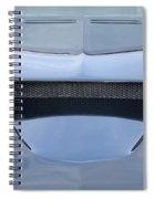 Route 66 Blue Hood Scoop Spiral Notebook