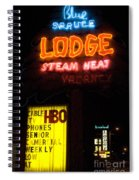 Route 66 Blue Spruce Gallup Spiral Notebook