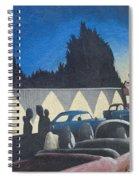 Route 66 Brandon Mural Spiral Notebook