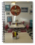 Route 66 Burgers Spiral Notebook