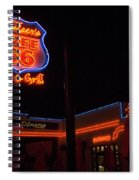 Route 66 Cruisers Spiral Notebook