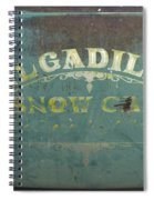 Route 66 Del Gadillos Spiral Notebook