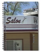 Route 66 Desotos Salon Spiral Notebook